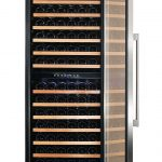 166_bottle_wine_cooler_dual_zone_stainless_angle